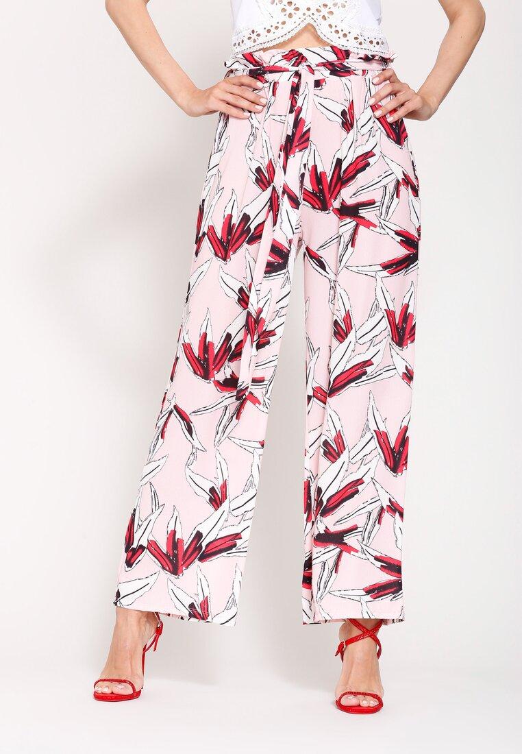 Różowe Spodnie Alice