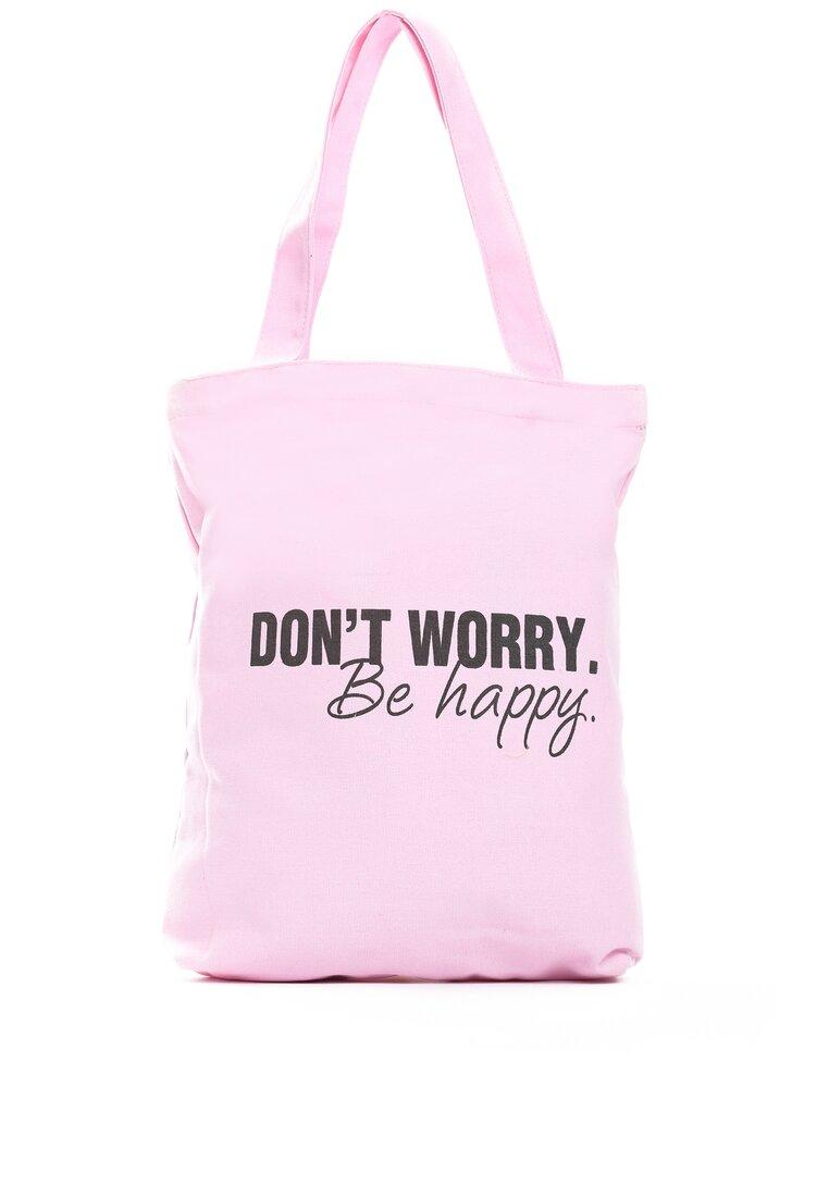 Różowa Torebka Be Happy