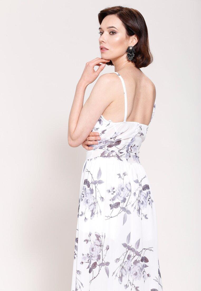 Biała Sukienka Love System