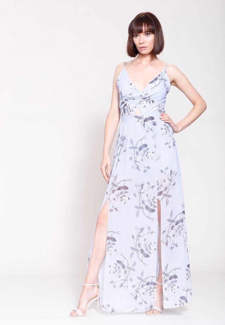 Niebieska Sukienka Love System