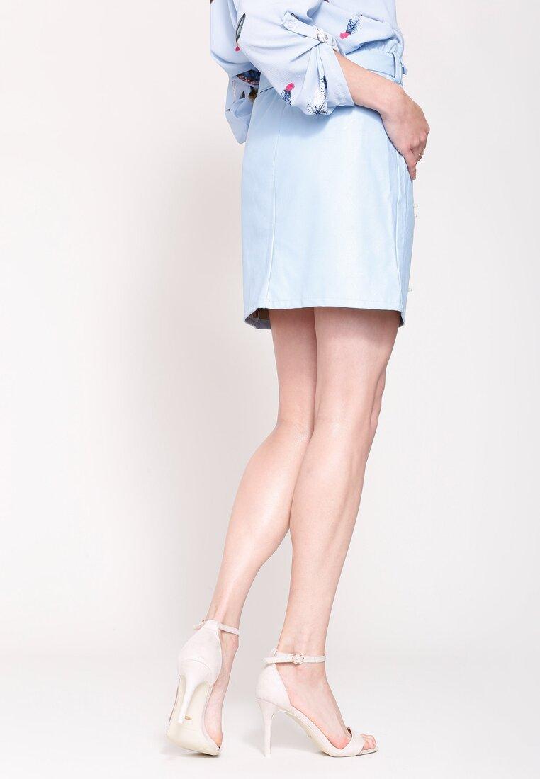 Jasnoniebieska Spódnica Next To You