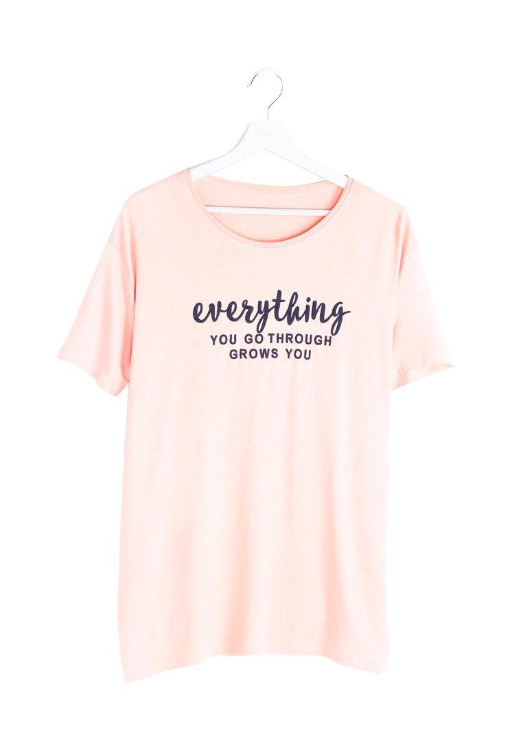 Różowa Bluzka Influencer