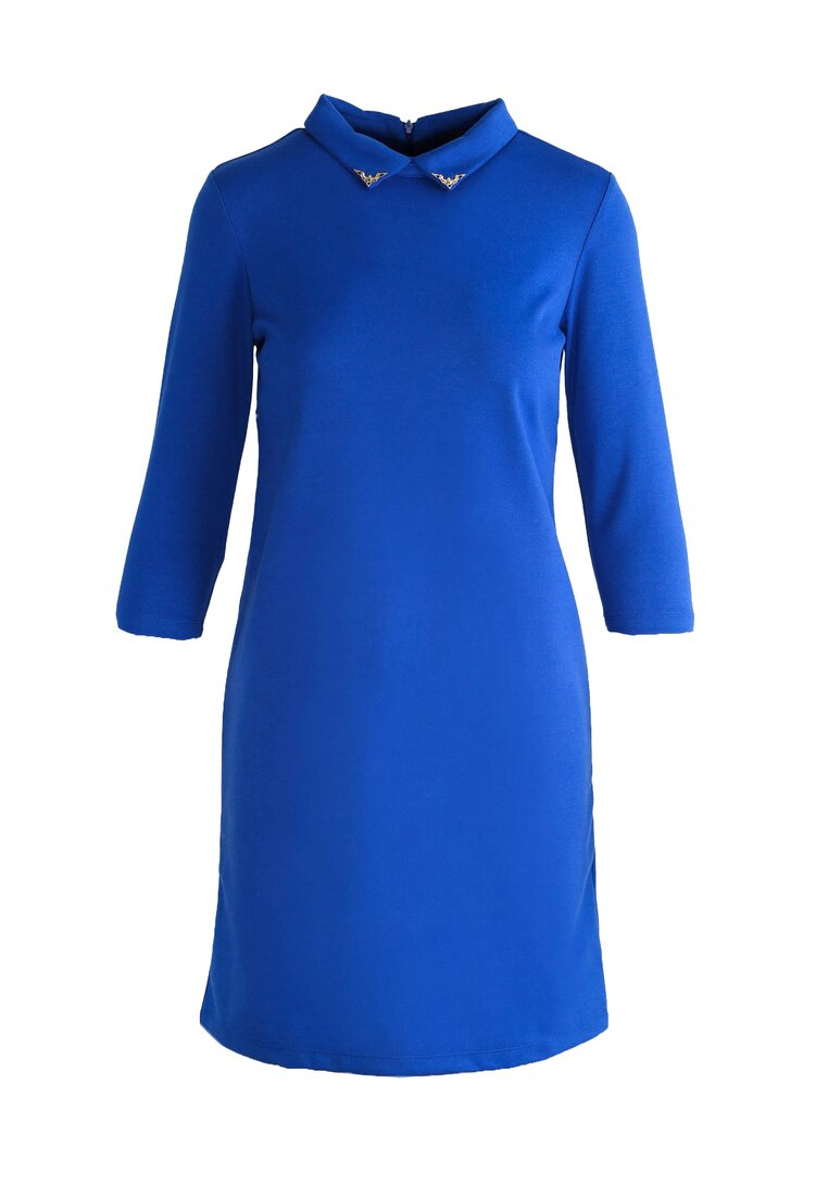 Niebieska Sukienka Script Girl