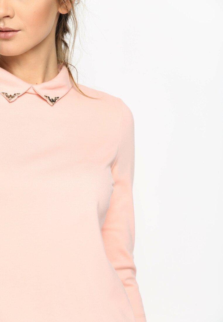 Różowa Sukienka Script Girl