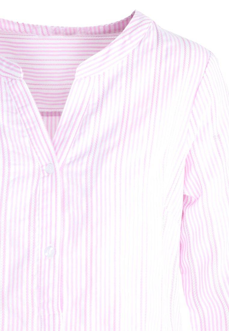Różowa Koszula Long Shot