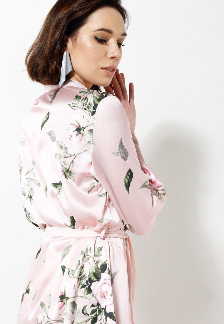 Różowa Sukienka Scientist