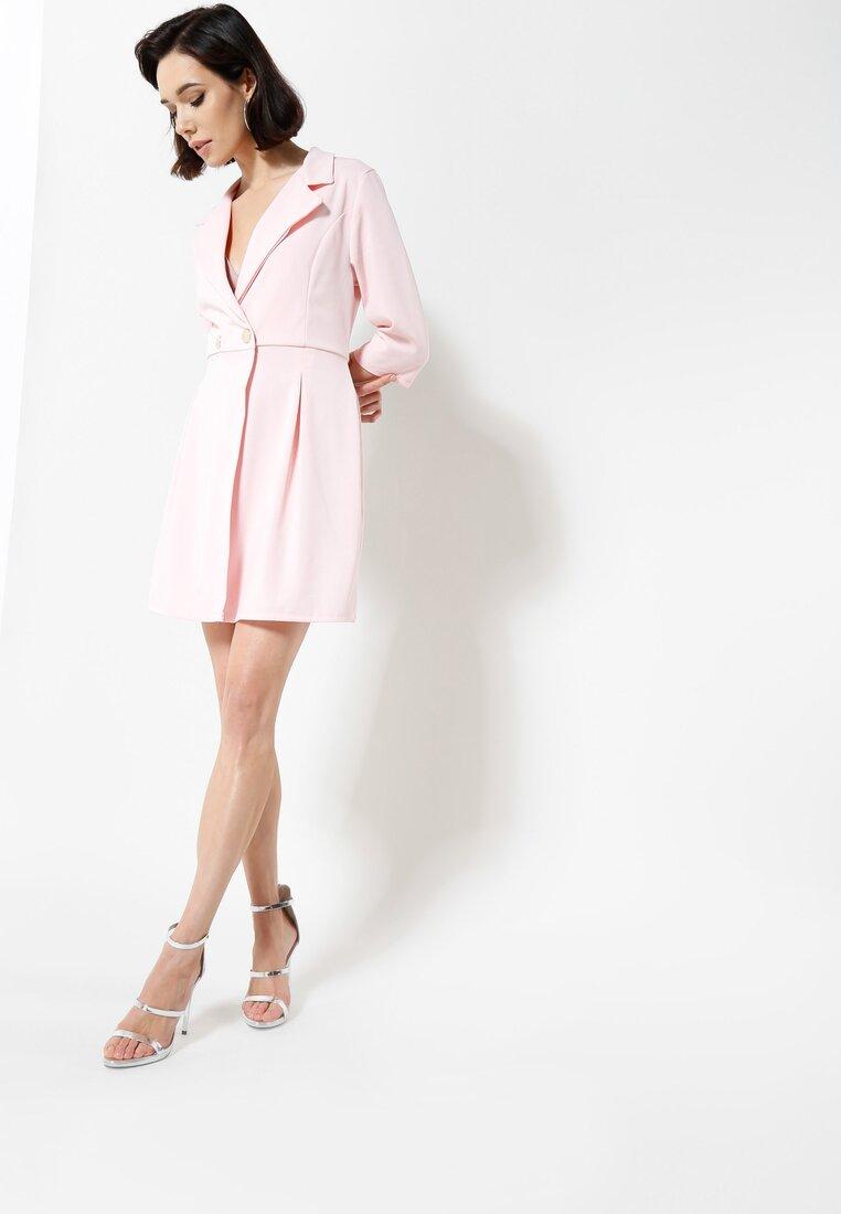 Różowa Sukienka Staying Classy