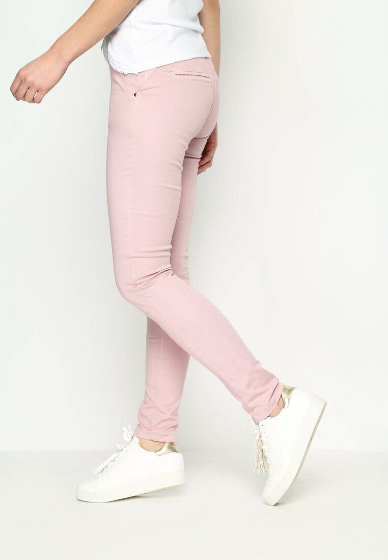 Różowe Spodnie Cheating Heart