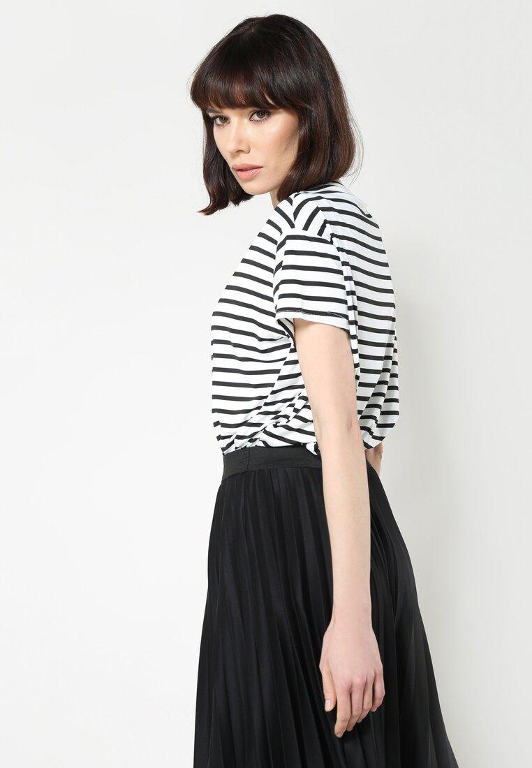 Biała Bluzka I Love Stripes