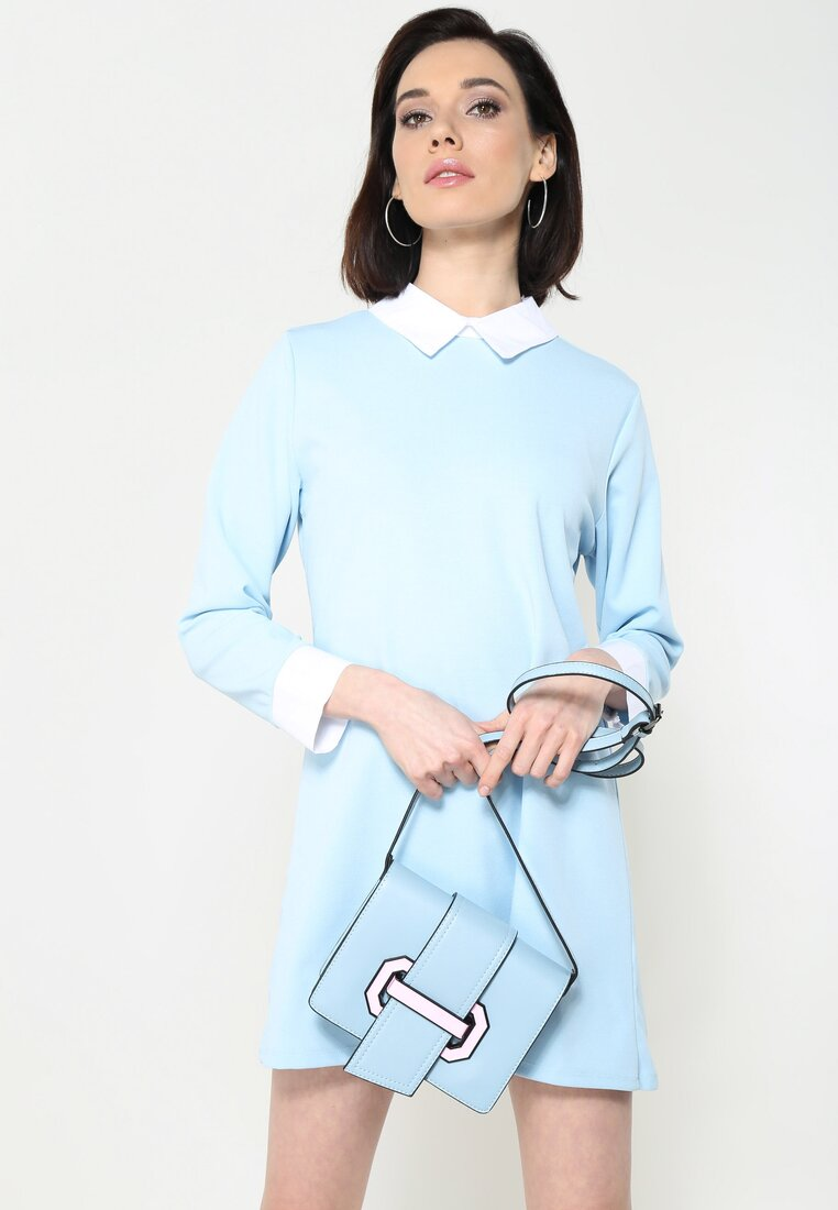Niebieska Torebka Act Like Lady
