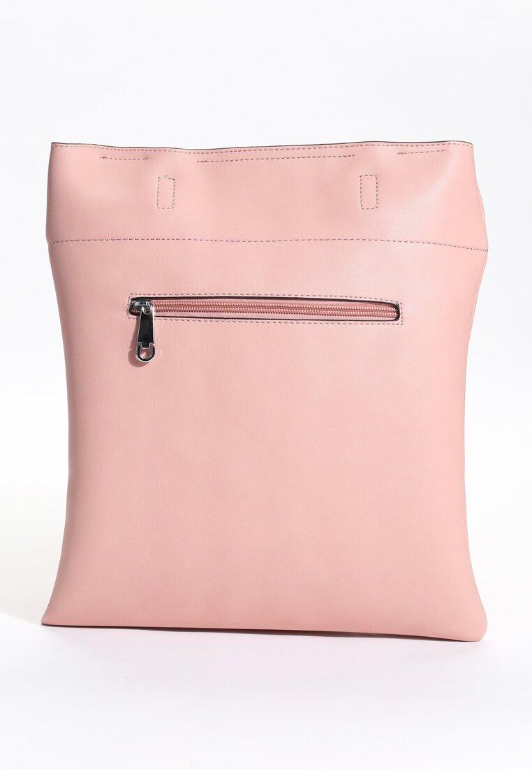 Różowa Torebka Clear