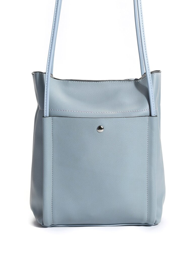 Niebieska Torebka Go Shopping!