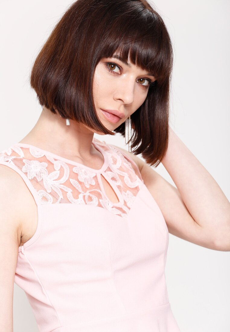Różowa Bluzka Lily Shape