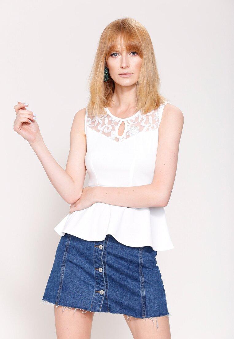Biała Bluzka  Lily Shape