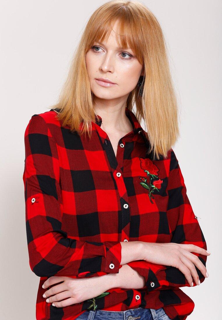 Czerwono-Czarna Koszula Country
