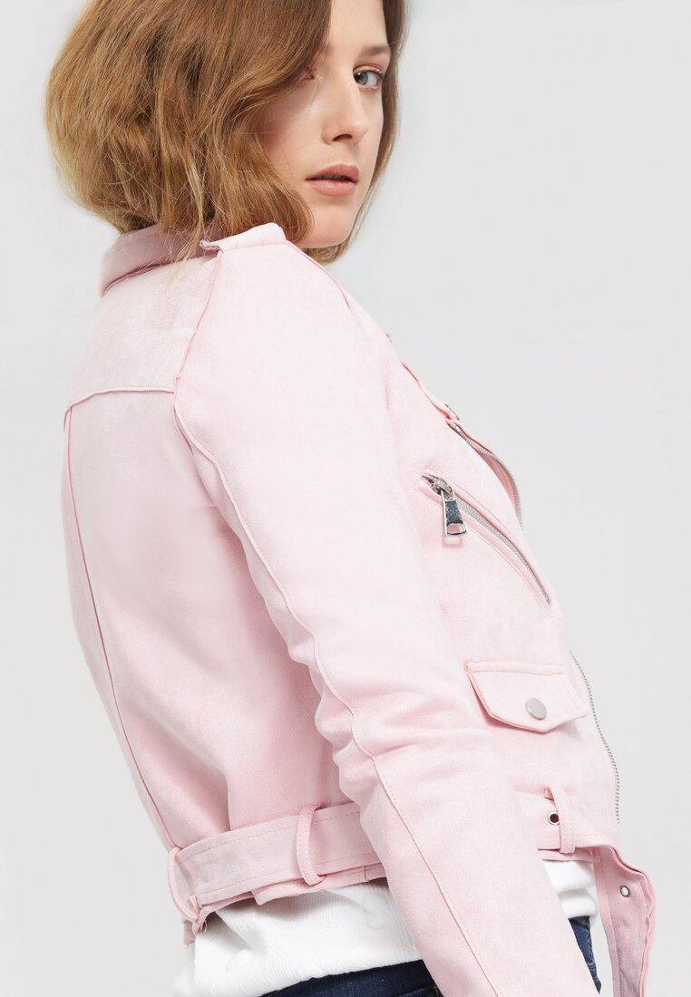Różowa Ramoneska No Lookin' Back