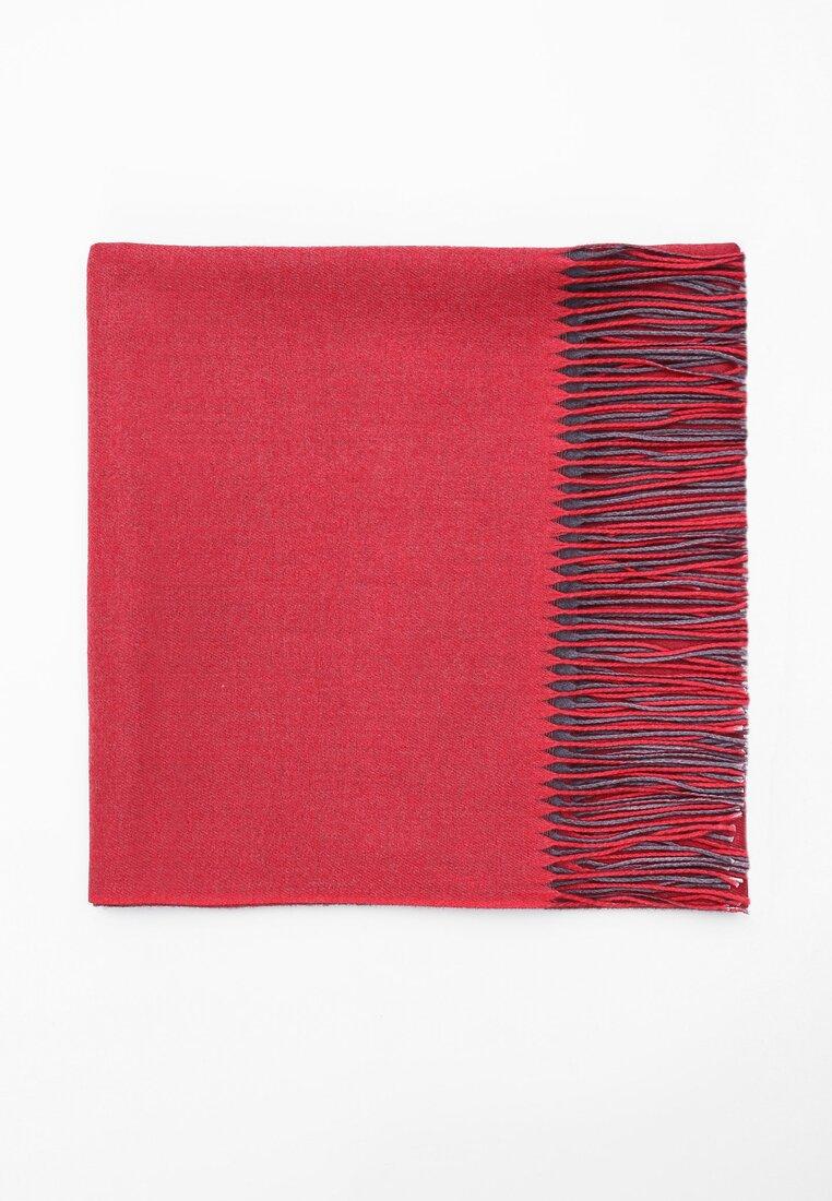 Czerwony Szalik Colors Of The Wind