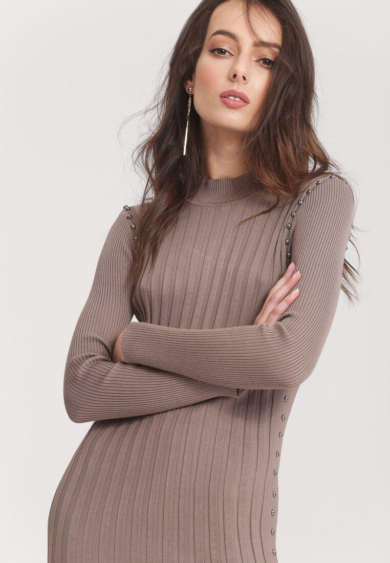 Khaki Sukienka Powder Grey