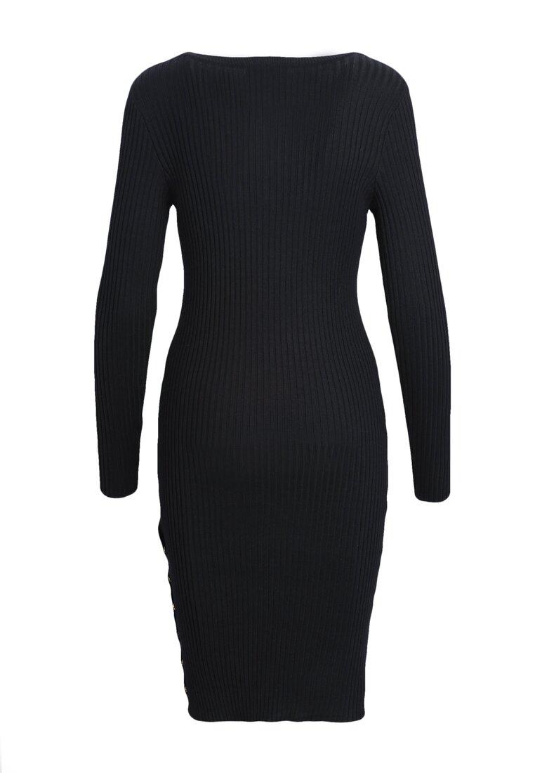 Czarna Sukienka Fete Gala
