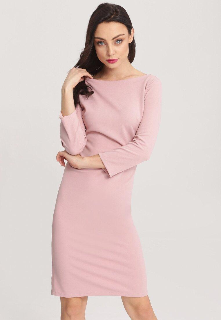Różowa Sukienka Lose