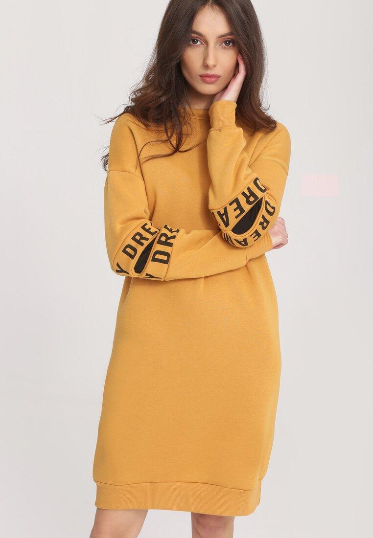 Żółta Bluza Originality