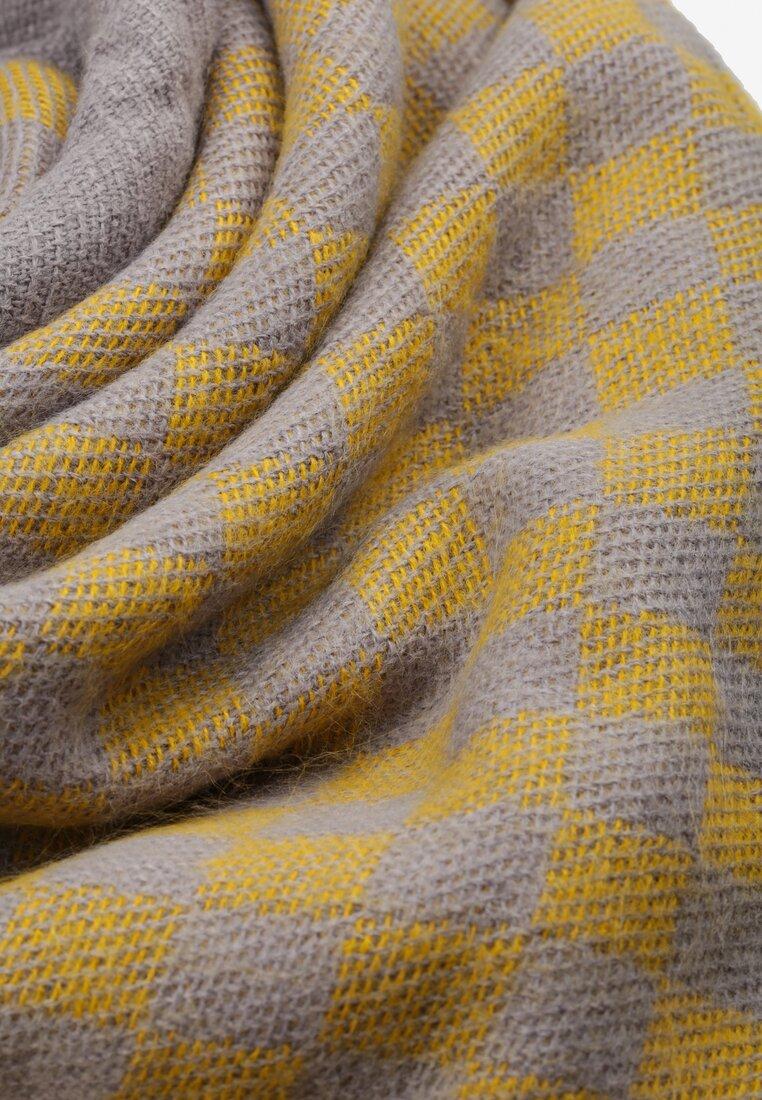 Żółty Szalik Symmetry