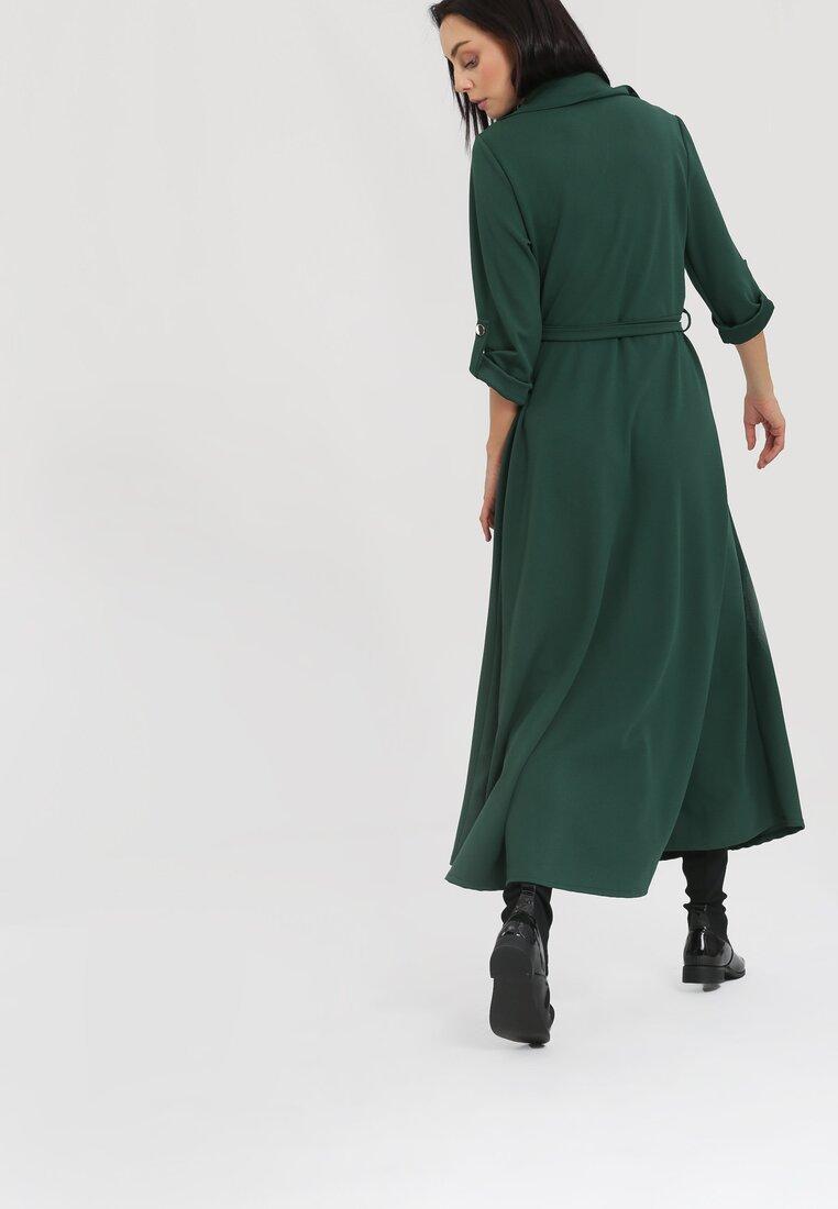 Ciemnozielona Sukienka Determination