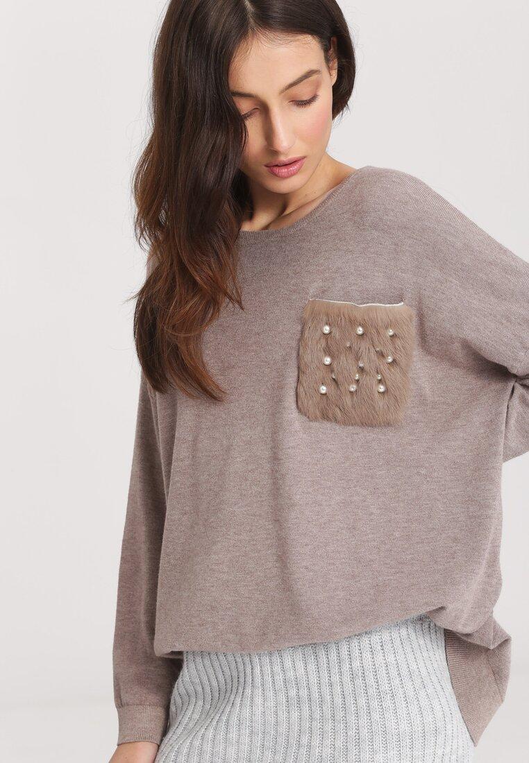 Khaki Sweter Opuscule