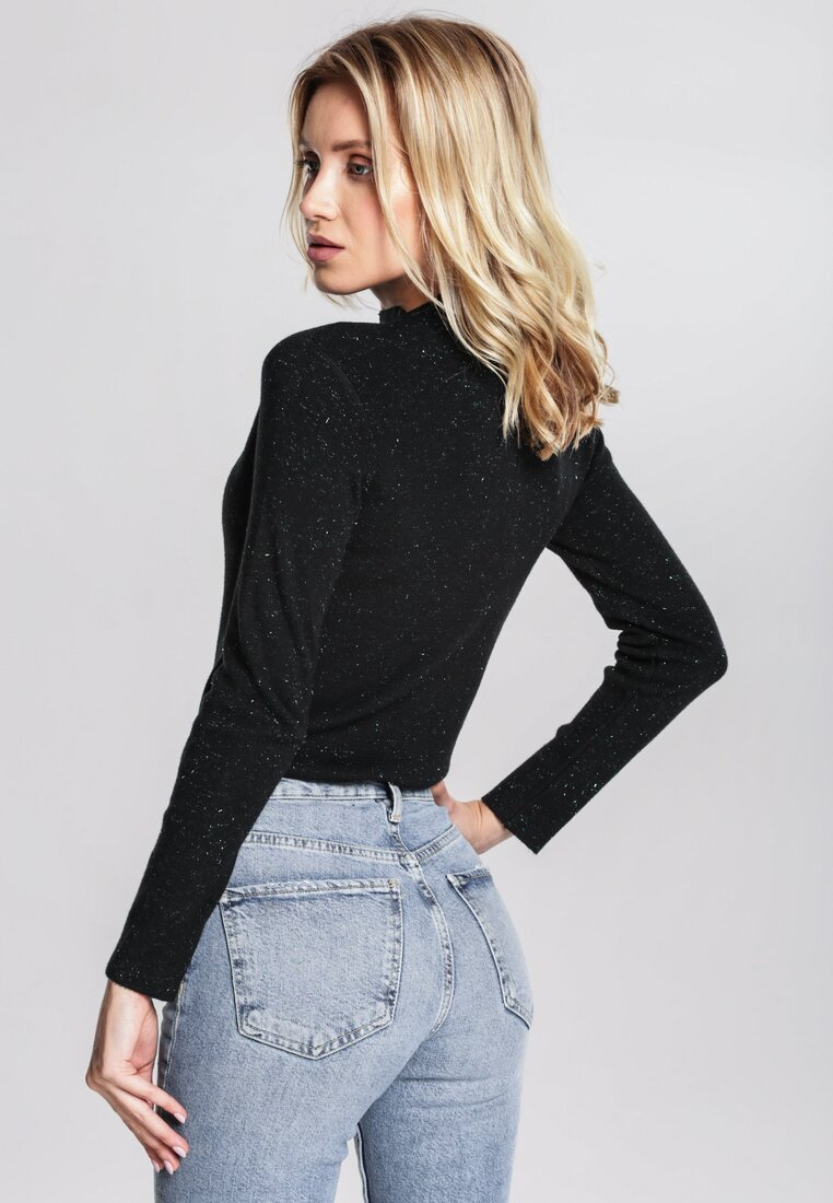 Czarny Sweter Gind