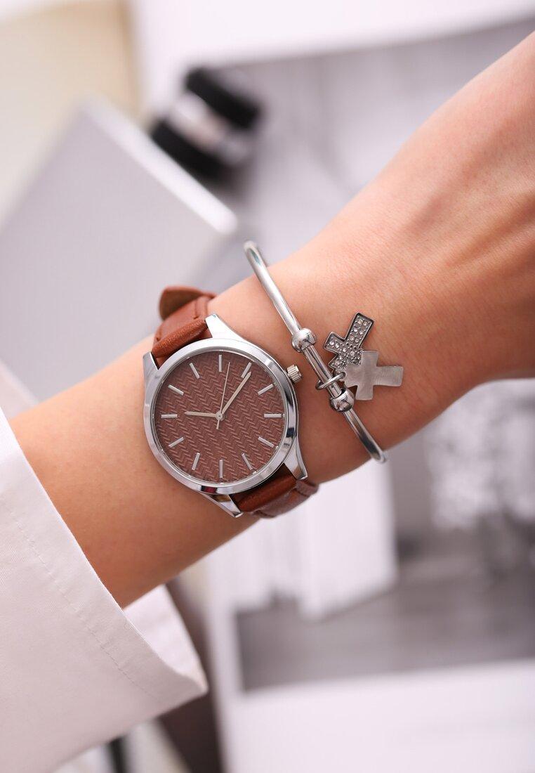 Brązowy Zegarek From Day To Day