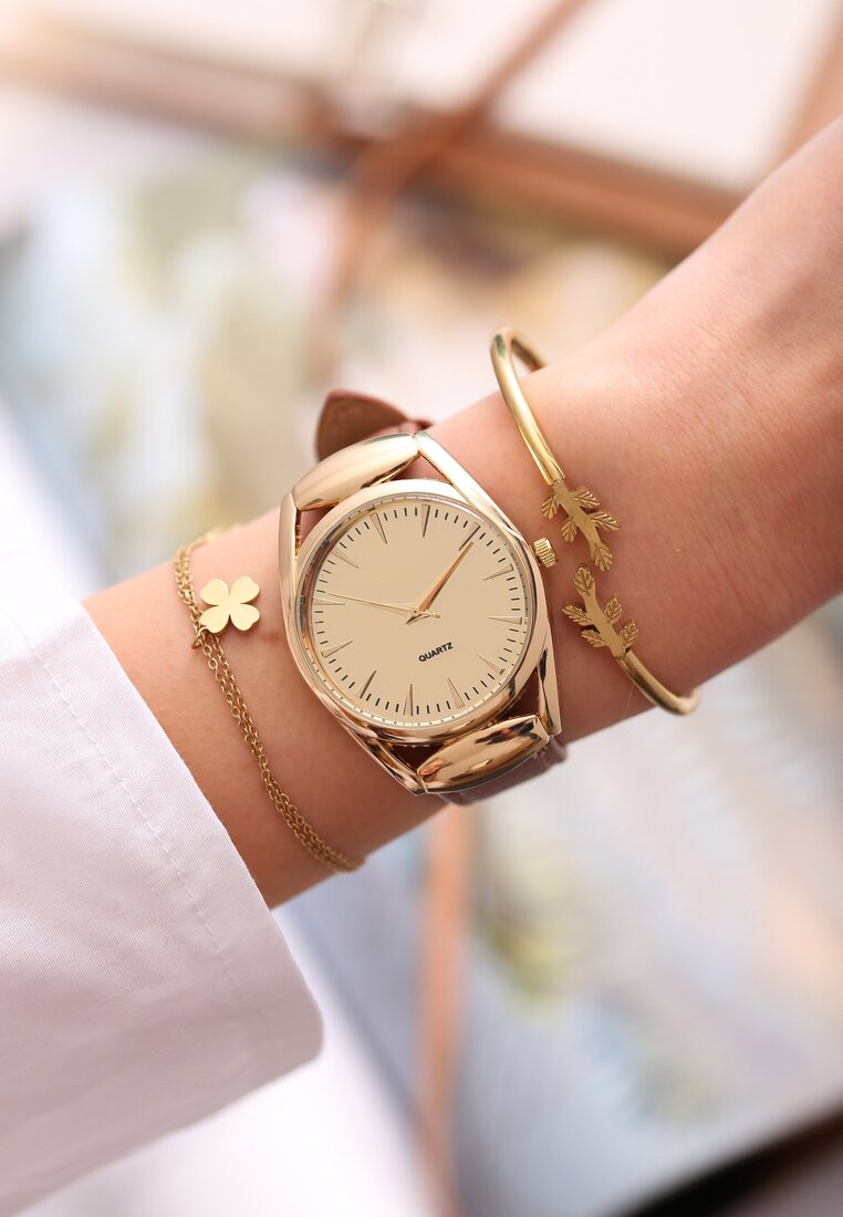 Brązowy Zegarek Offprint