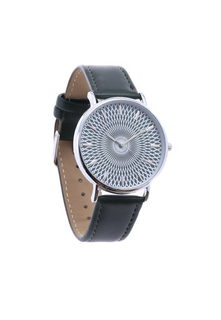 Ciemnozielony Zegarek Miser