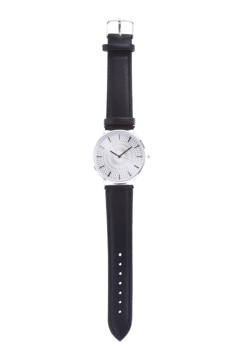 Czarno-Biały Zegarek Miser
