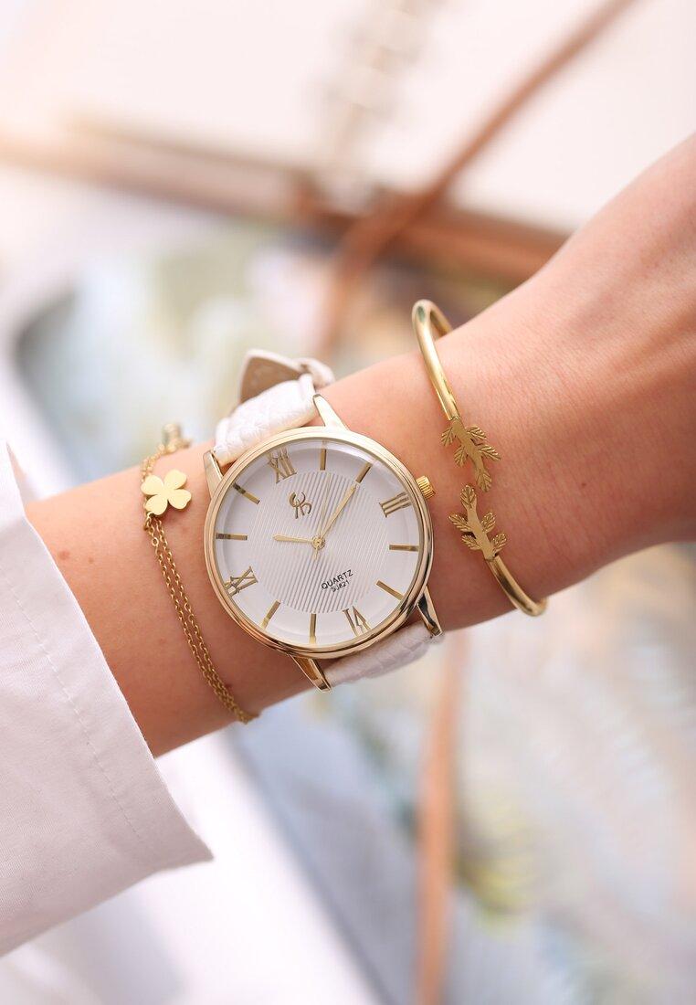 Biały Zegarek Don't Promise