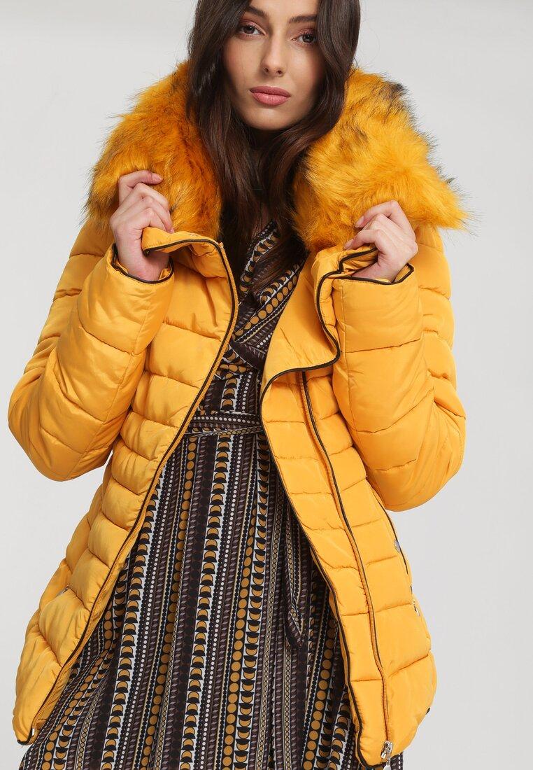 Żółta Kurtka Sunny Glow