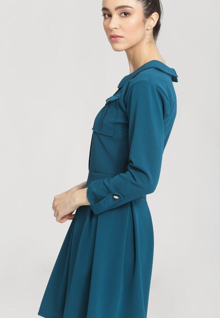 Granatowa Sukienka Prepensely