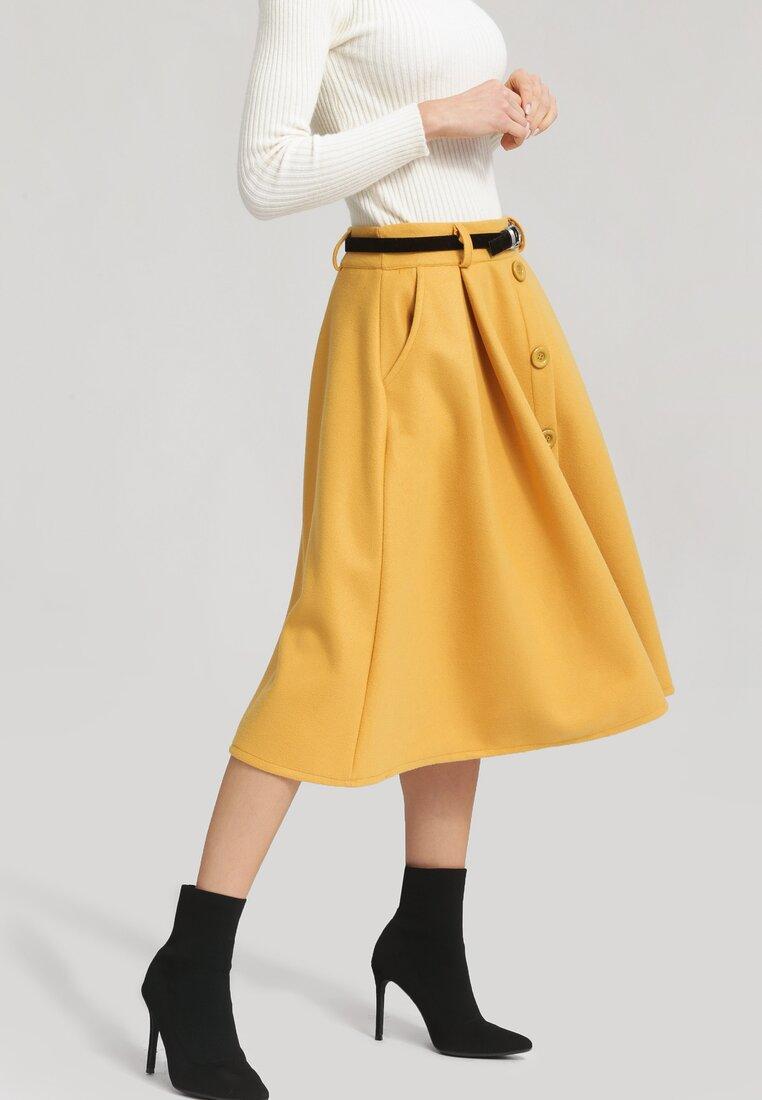 Żółta Spódnica Club Juniors