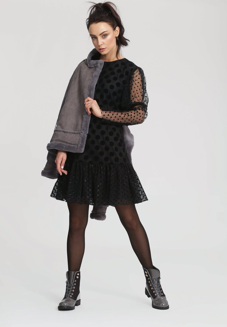 Czarna Sukienka Caroline - Limited Edition