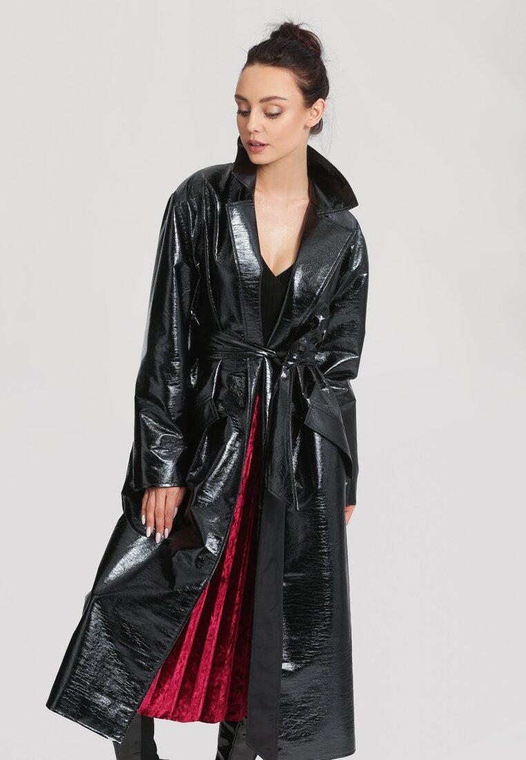 Czarny Płaszcz Matrix - Limited Edition