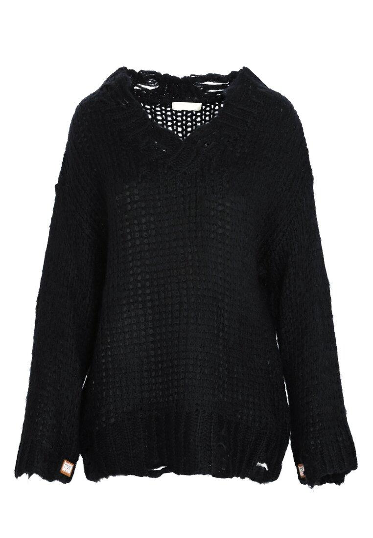 Czarny Sweter Ovation