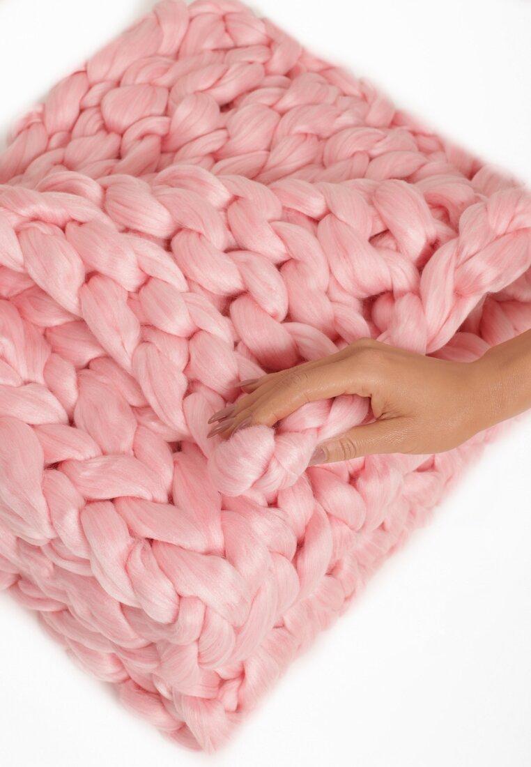 Różowy Koc Cuddle Up