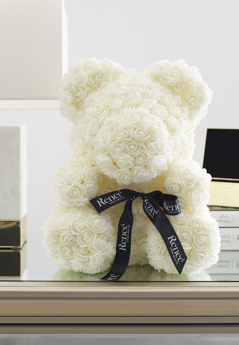 Biały Miś Rose Teddy