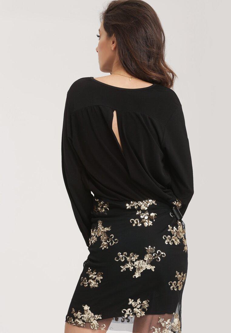 Czarno-Złota Sukienka Unattached