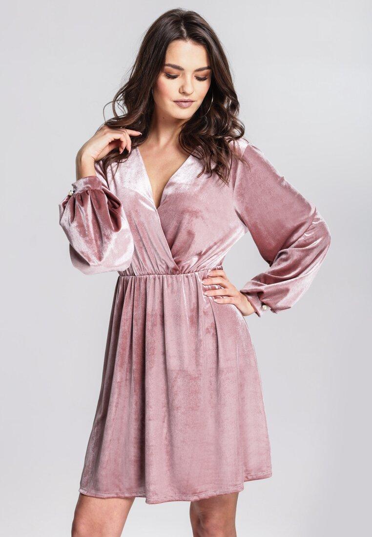 Różowa Sukienka Truthfully