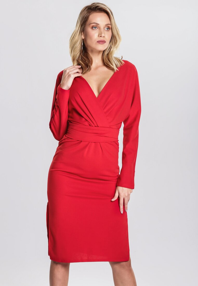 Czerwona Sukienka Thermal