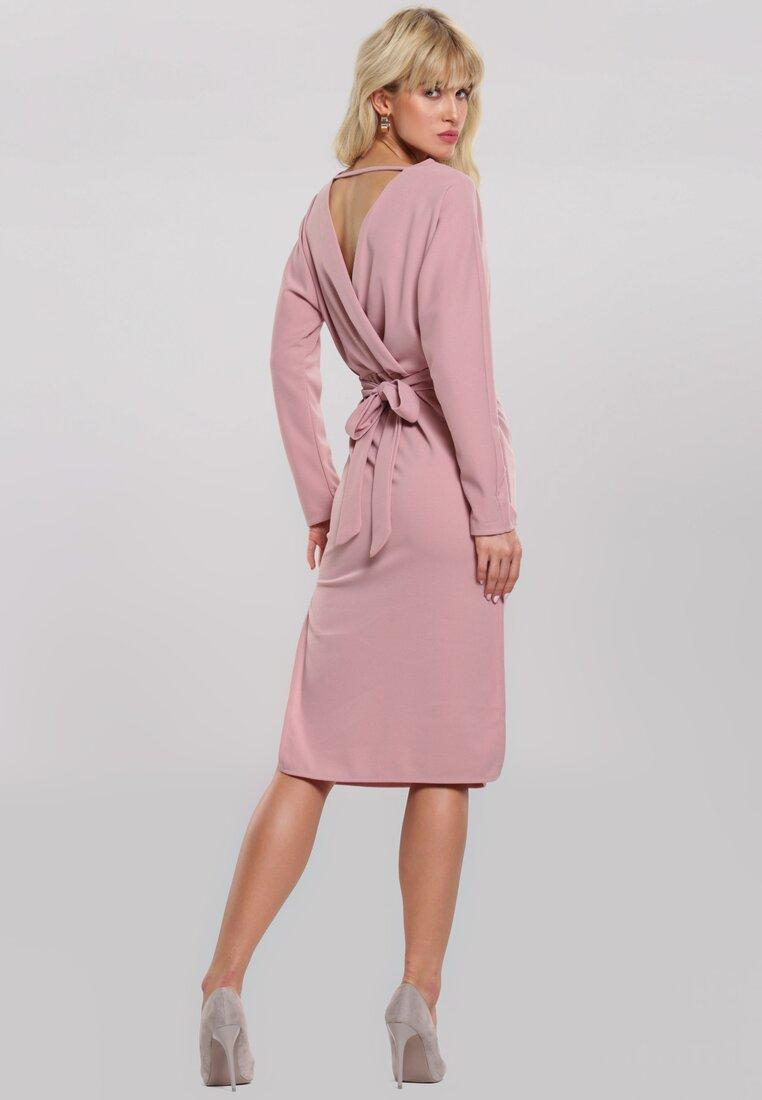 Różowa Sukienka Thermal