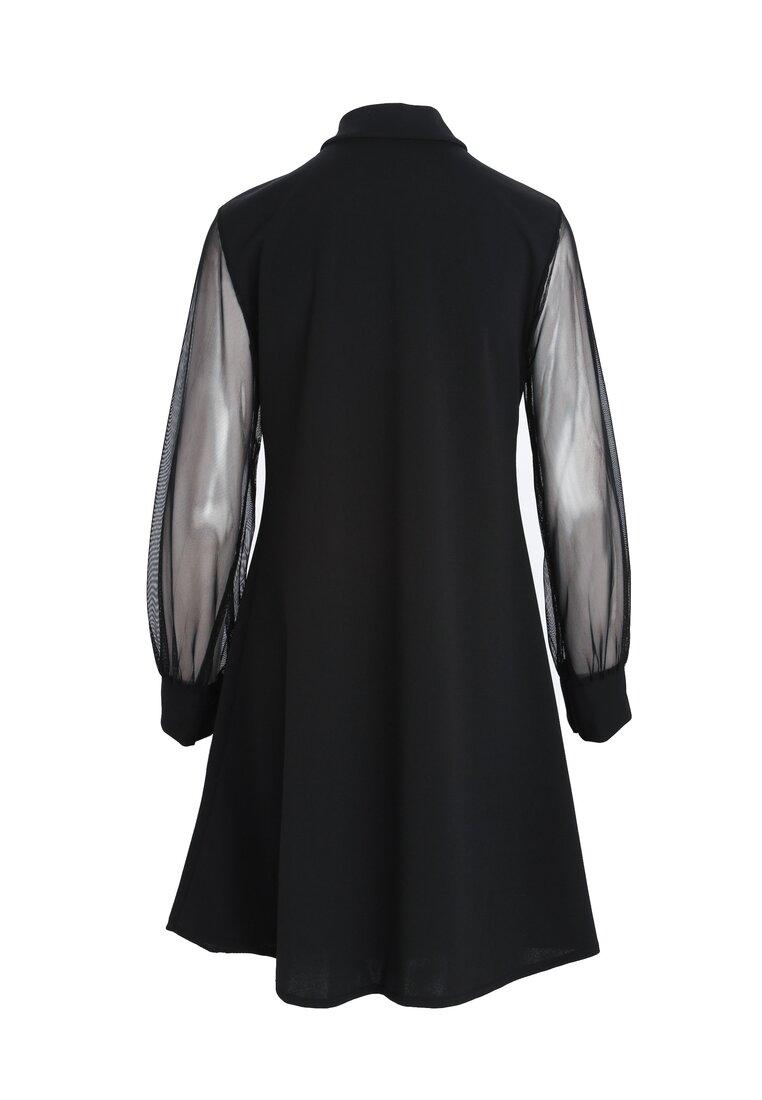 Czarna Sukienka Alpine
