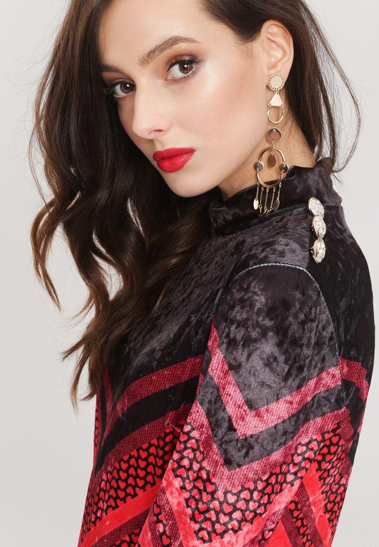 Czarno-Czerwona Sukienka Unsophisticated