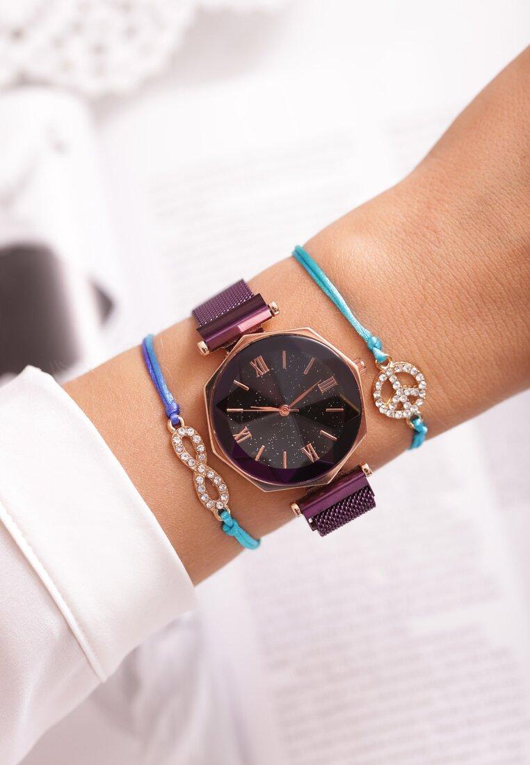 Fioletowy Zegarek Speculative