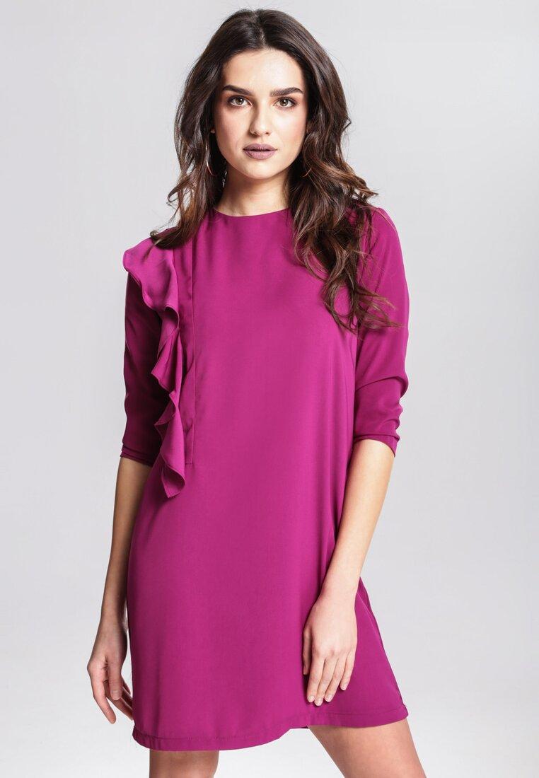 Fioletowa Sukienka Consign
